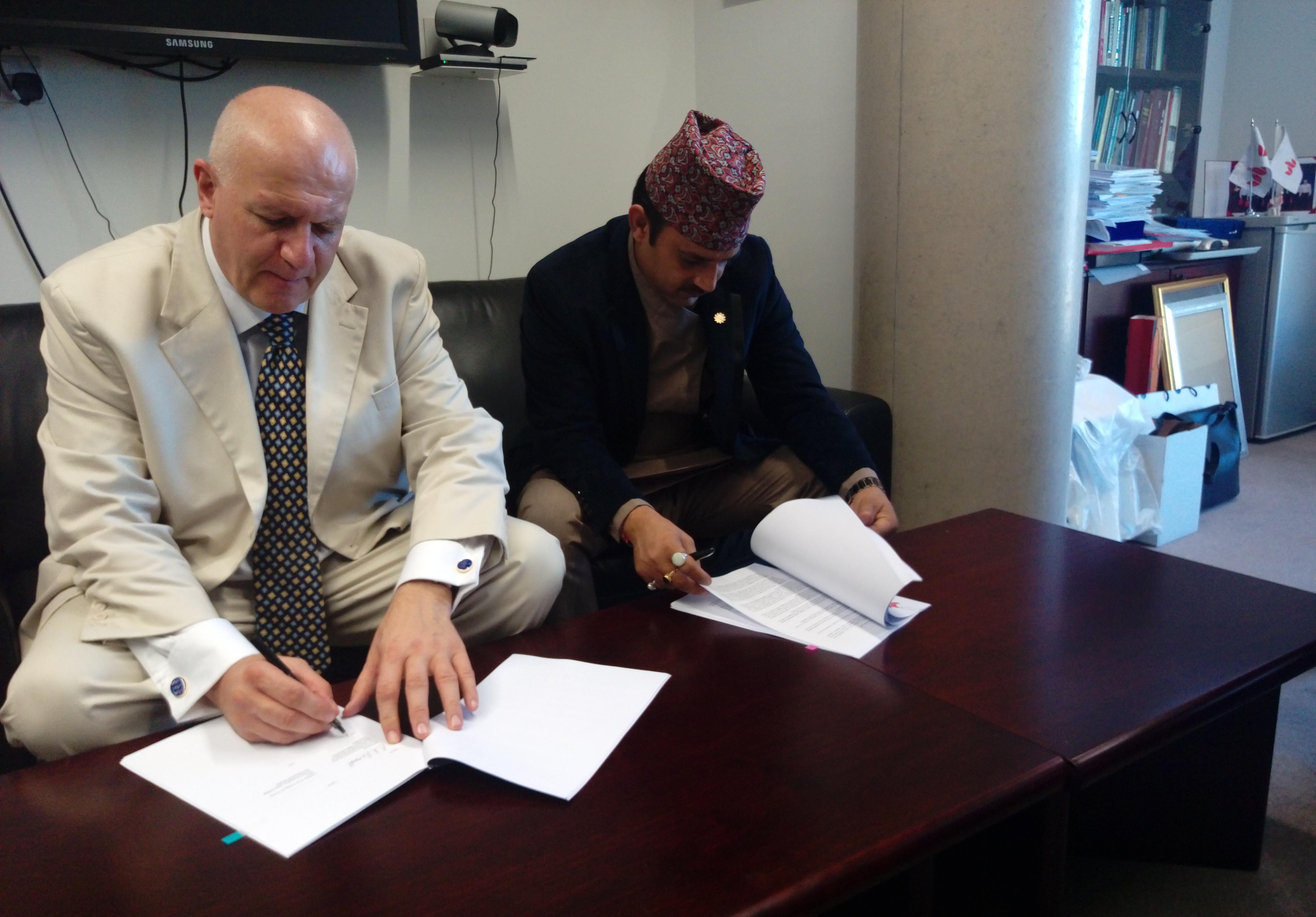 MOA Signing Ceremony