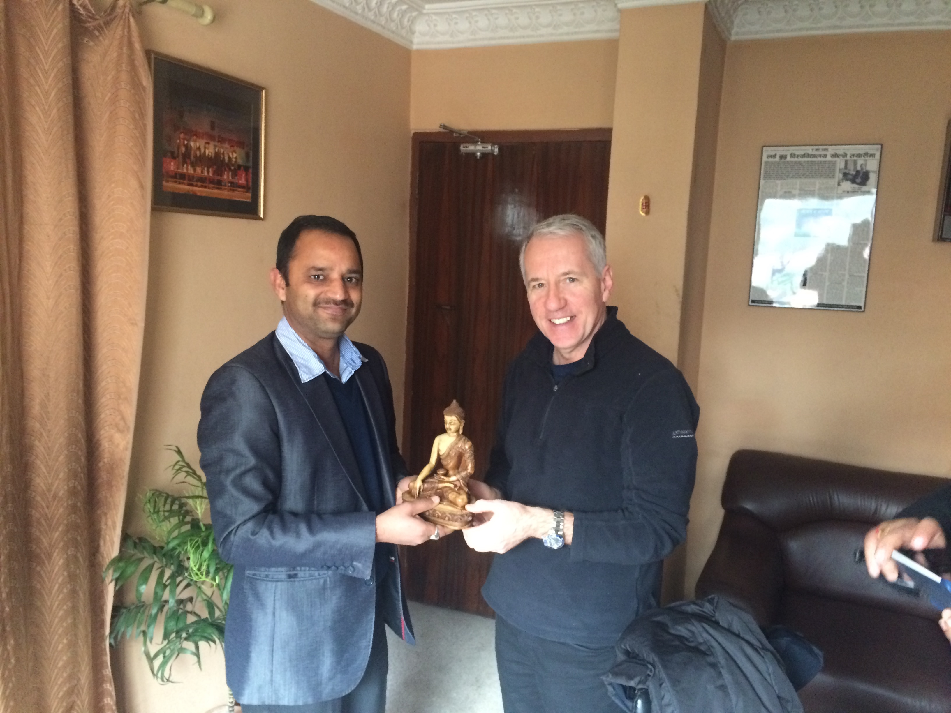 Visit of Mr. Alan Murphy (Director-International Partnership)