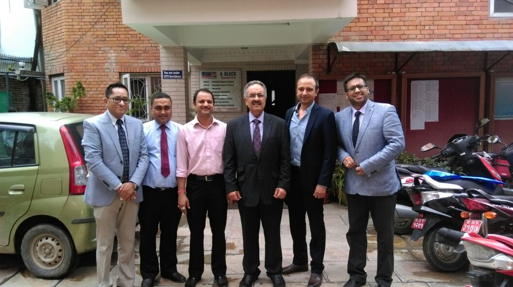 Visit of Professor Ashraf Jawaid – Deputy Vice Chancellor (External Relations)