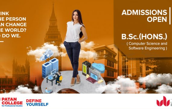 BSc. CS and SE Admissions open